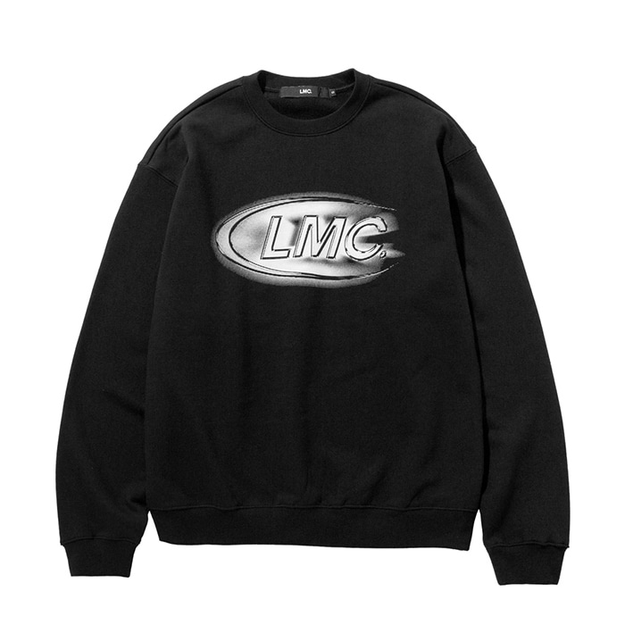 엘엠씨 맨투맨 LMC SHINING CO SWEATSHIRT black