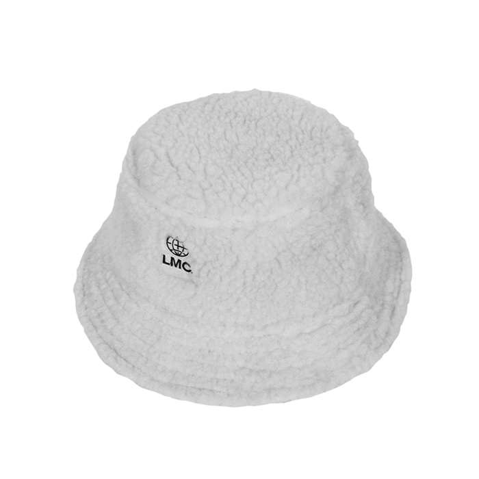 엘엠씨 버킷햇 LMC BOA FLEECE BUCKET HAT ivory