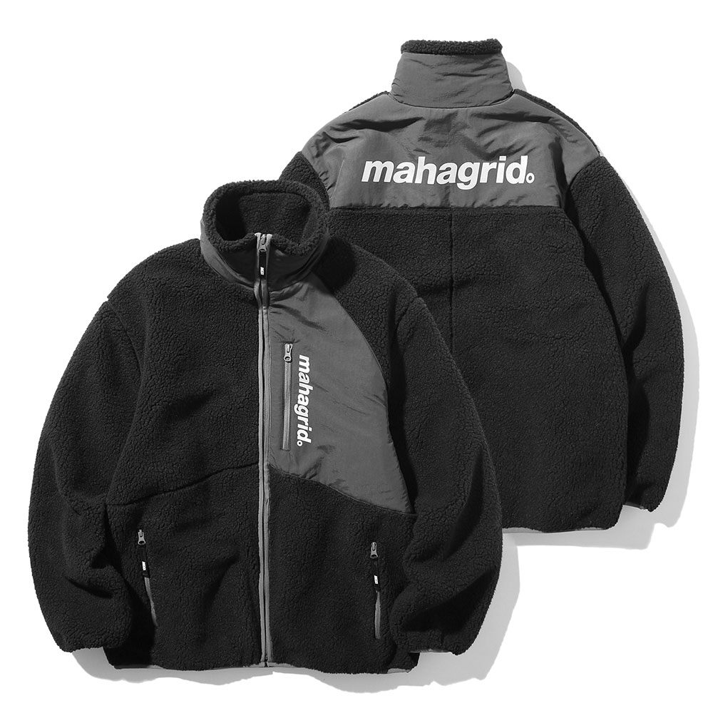 마하그리드 자켓 HEAVY FLEECE JACKET BLACK(MG1JWMB940A)