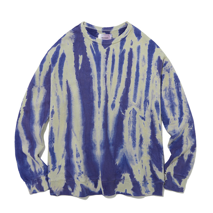 비바스튜디오 SHOWER DYEING CREWNECK IA [BLUE]