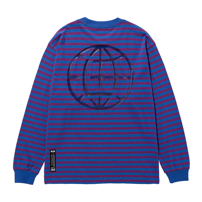 엘엠씨 롱슬리브 LMC PAINT BOX STRIPE LONG SLV TEE purple