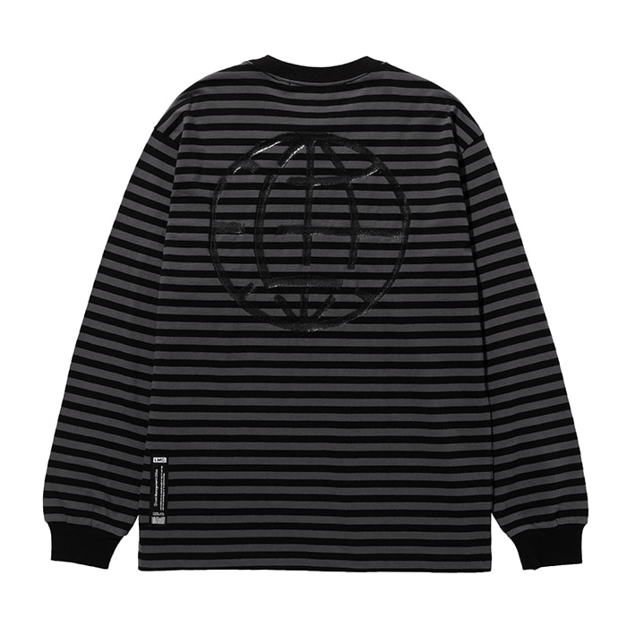 엘엠씨 롱슬리브 LMC PAINT BOX STRIPE LONG SLV TEE black