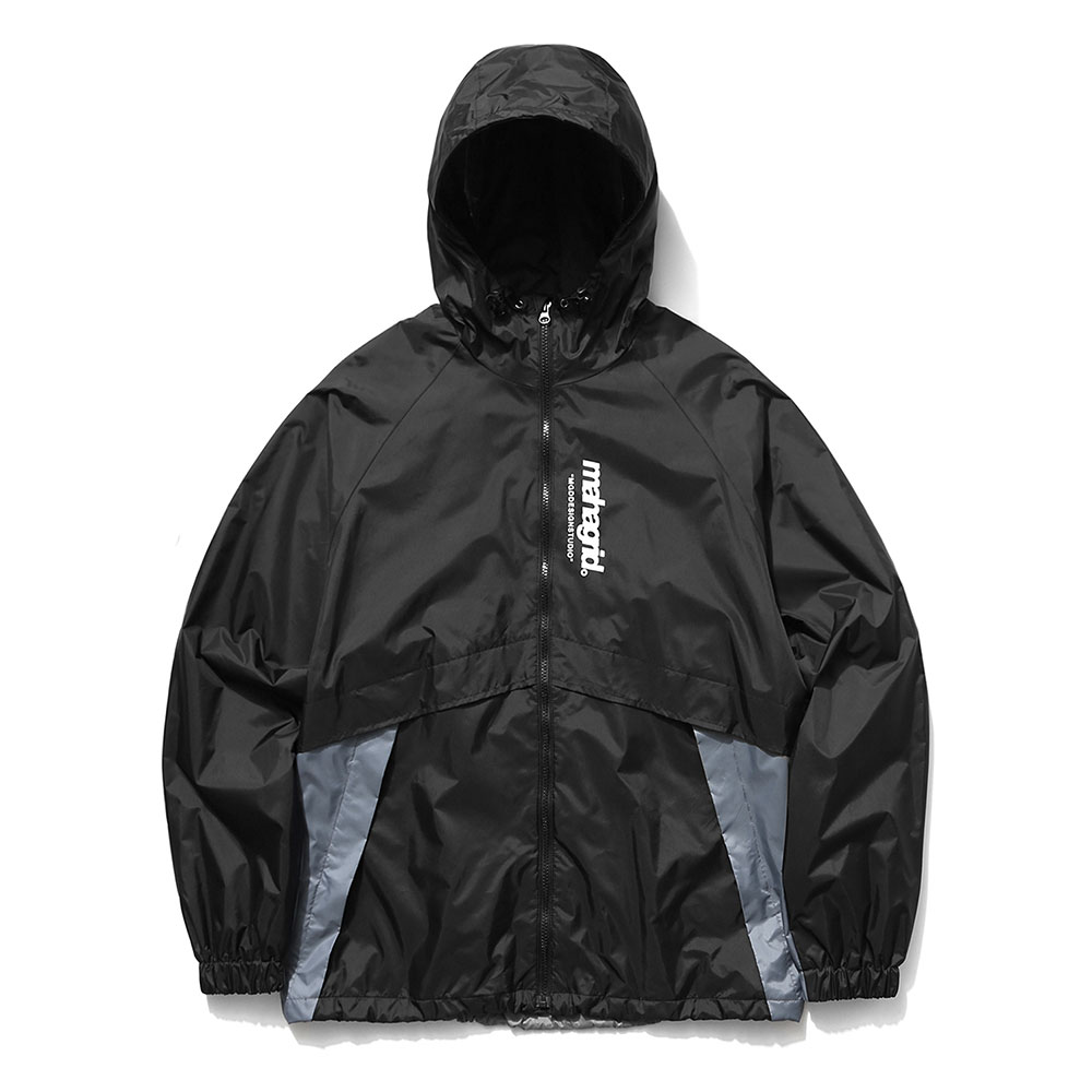 마하그리드 자켓 REFLECTIVE WIND BREAKER [BLACK]