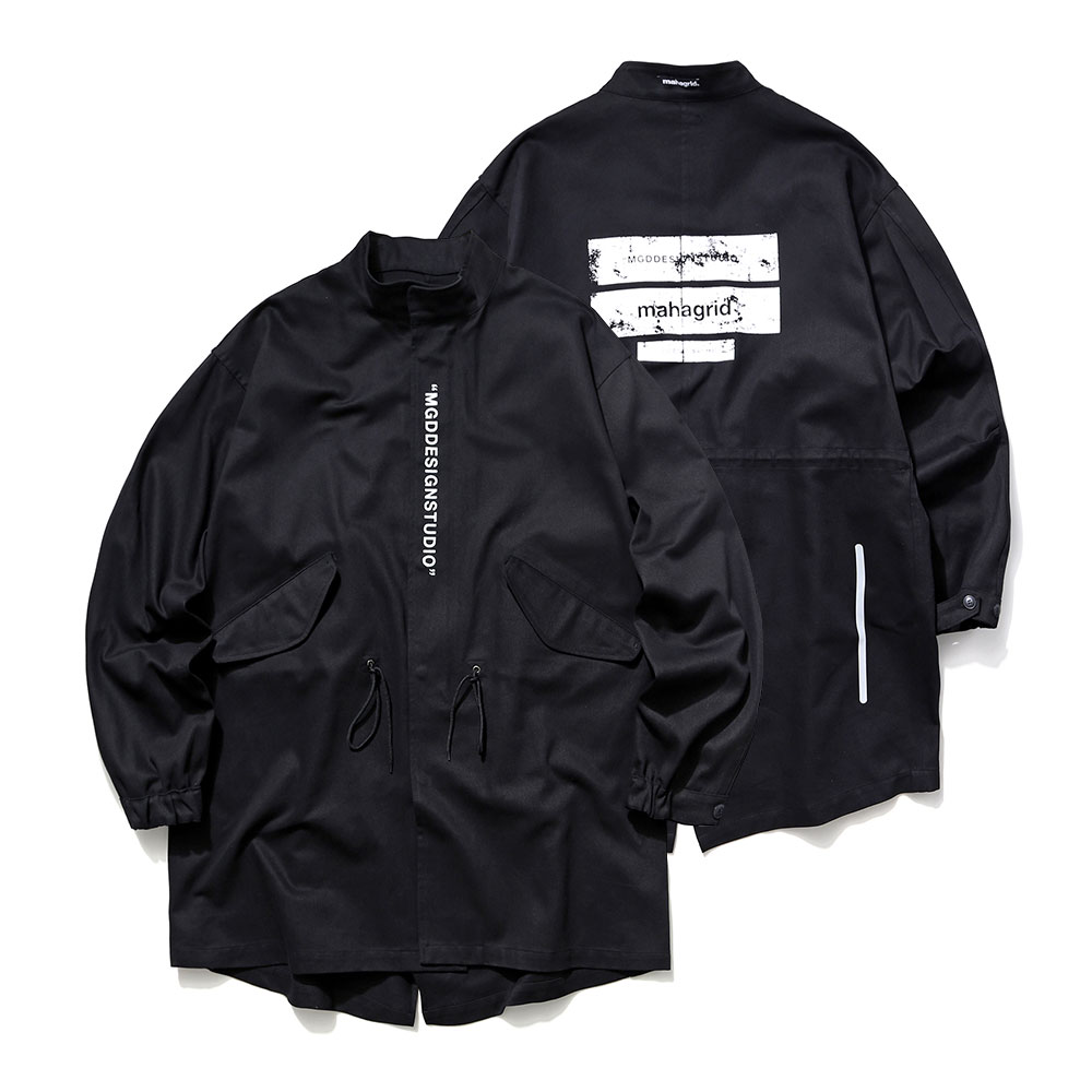 마하그리드 자켓  M-51 FISHTAIL PARKA [BLACK]