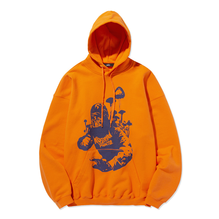엘엠씨 후드티 LMC HUNTER OVERSIZED HOODIE orange