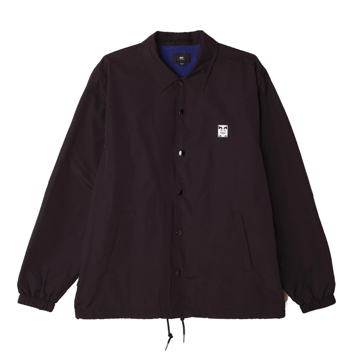 오베이 코치자켓 ICON COACHES JACKET/BLACK