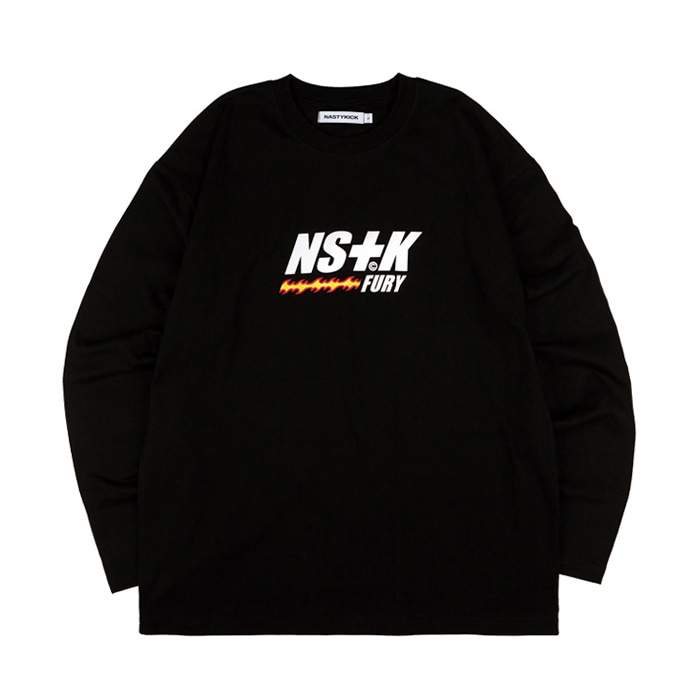 네스티킥 롱슬리브 LIKE FURY V2 LONGSLEEVE TEE/BLACK