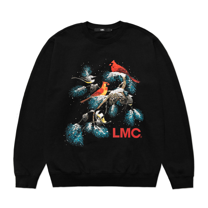 엘엠씨 맨투맨 LMC CHRISTMAS OVERSIZED SWEATSHIRT black