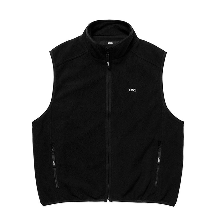 엘엠씨 LMC POLAR FLEECE VEST black