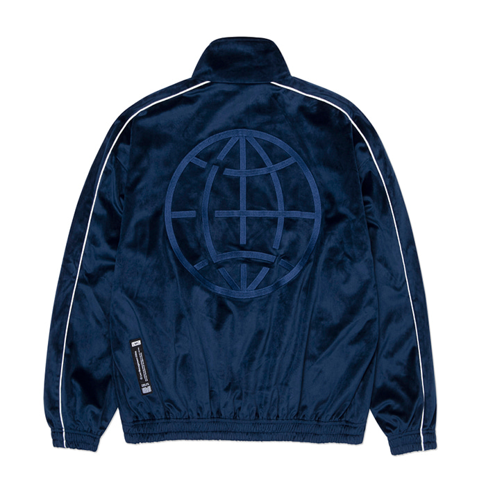 엘엠씨 LMC VELOUR TRACK TOP navy