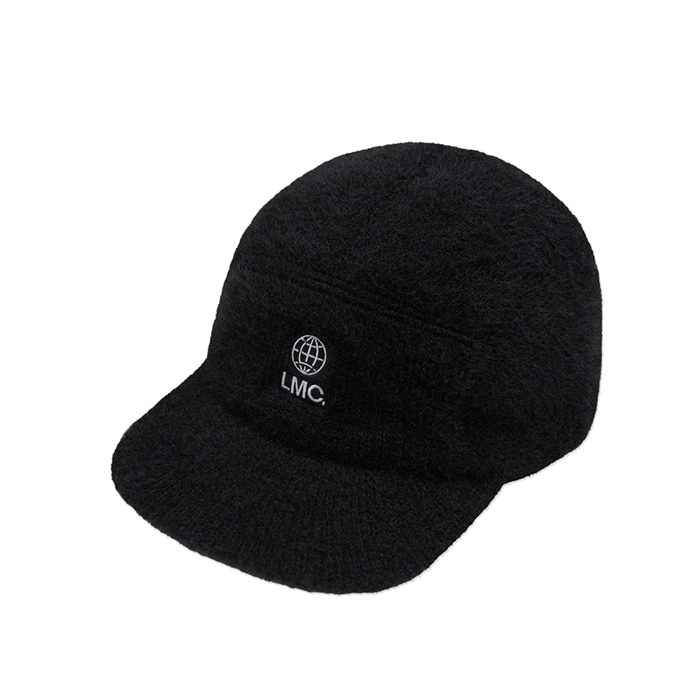 엘엠씨 모자 LMC FAUX FUR CAMP CAP black