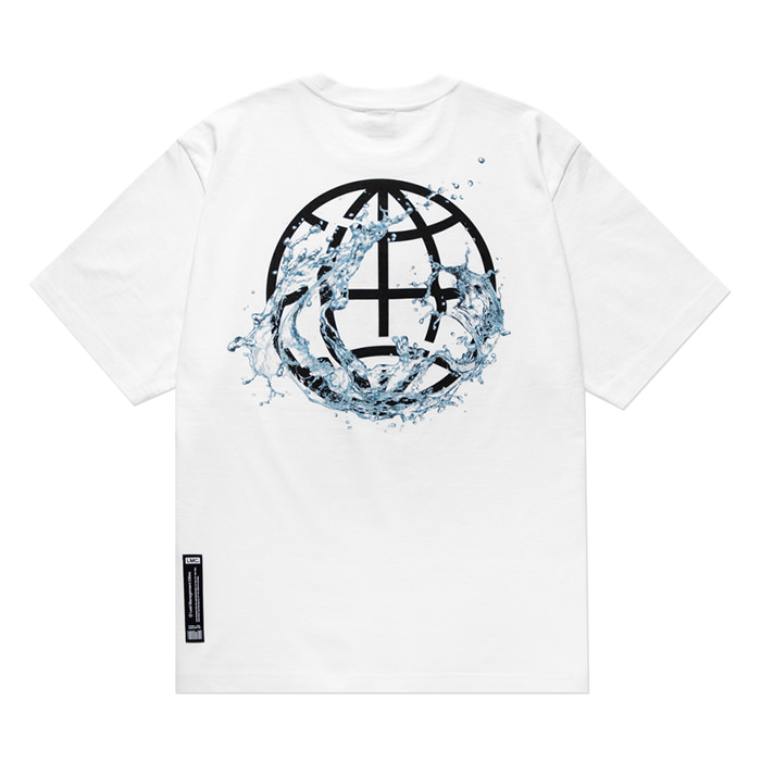 엘엠씨 티셔츠 LMC WATER SPLASH TEE white