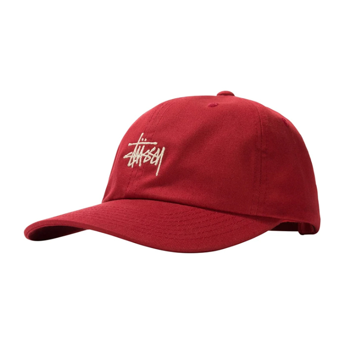 스투시 모자 STOCK SP15 CAP BURGUNDY_131955