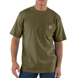 칼하트 workwear pocket t-shirt  // army green