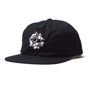 미쉬카 Damaged Keep Watch Snapback // Black