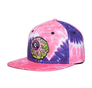 미쉬카 Lamour Keep Watch Tie Dye Snapback // Pink/Purple Horizontal Wave