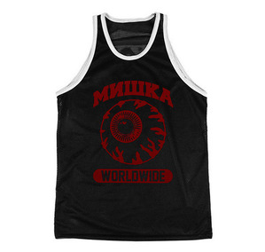 미쉬카 JV Keep Watch Basketball Jersey // BLACK