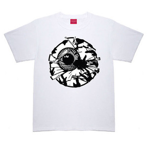 미쉬카 Damaged Keep Watch Tee // White