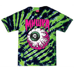미쉬카 Lamour Keep Watch Tiger Tie Dye Tee // Tiger Stripe Tie Dye
