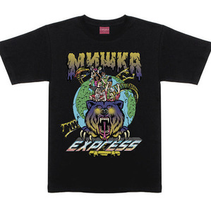 미쉬카 MISHKA Vomit Express Tee // Black