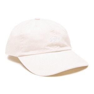오베이 볼캡 JUMBLE BAR 6 PANEL // CREAM