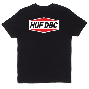 허프 HUF FUEL TEE BLACK