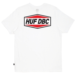 허프 HUF FUEL TEE WHITE