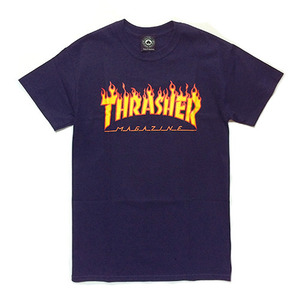 트레셔 FLAME LOGO // NAVY BLUE