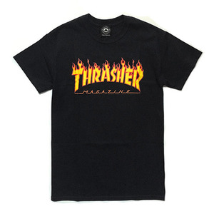 트레셔 FLAME LOGO // BLACK