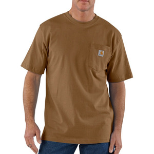 칼하트 workwear pocket t-shirt  // carhartt brown