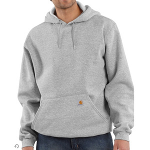 칼하트 후드 midweight hooded pullover sweatshirt  //  heather grey