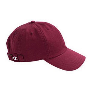 챔피온 볼캡 champion brushed cotton 6-panel cap  // maroon