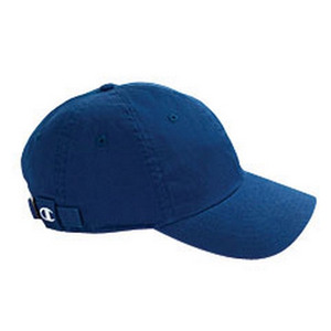 챔피온 볼캡 champion brushed cotton 6-panel cap  // royal blue