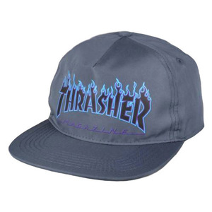 트레셔 PRINTED FLAME SNAPBACK // GREY