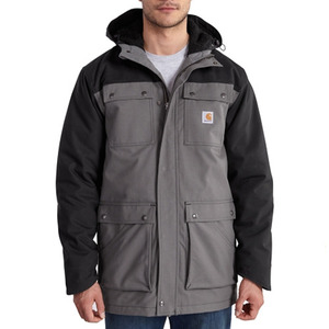 칼하트 quick duck ® elkheart  parka  // black