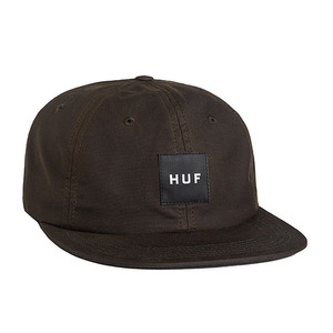 허프 HUF X BRITISH MILLERAIN WAXED 6 PANEL // BROWN