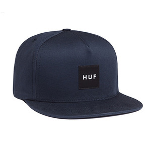 허프 BOX LOGO SNAPBACK // NAVY