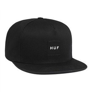 허프 BOX LOGO SNAPBACK // BLACK