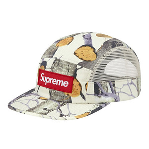 - 슈프림 - Supreme Aspen Wood Camp Cap