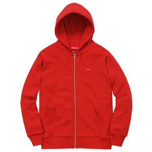 - 슈프림 후드집업 - Supreme Small Box Logo Thermal Zip Up / Red (써멀후드집업)