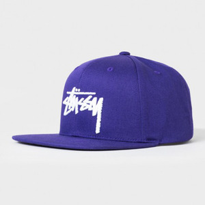 스투시 STOCK SP16 CAP  //  PURPLE