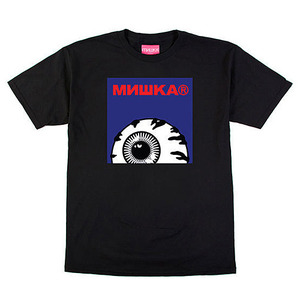 미쉬카 KEEP WATCH BOX LOGO TEE  //  BLACK