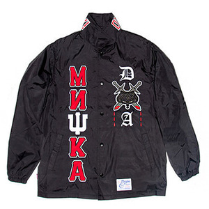 미쉬카  BROTHERHOOD COACHES JACKET  //  BLACK