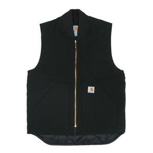 칼하트 duck vest / arctic-quilt lined  // black  국내당일발송!