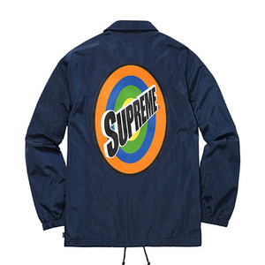 - 슈프림 -   Supreme Spin Coaches Jacket  // Navy