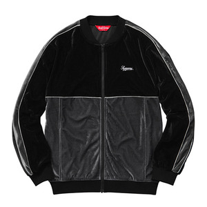- 슈프림 - Supreme 2-Tone Velour Zip Up Sweat